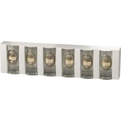 Ón-arany címkés pohár S6 barack