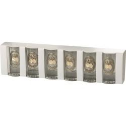 Ón-arany címkés pohár S6 szilva
