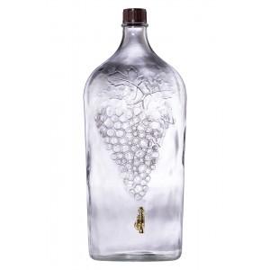 Csapos üveg Grape 7L