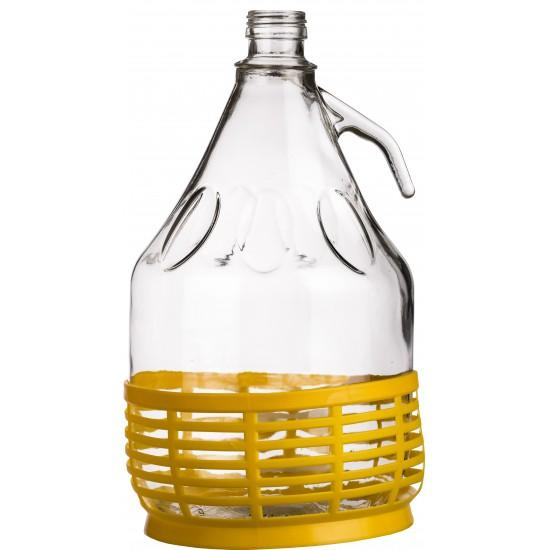 Demigeon 3 Literes üvegpalack + Műanyag alj