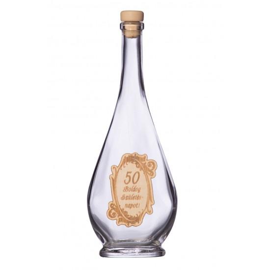 Fa címkés FC2 Liabel 50  0,2 Literes üvegpalack