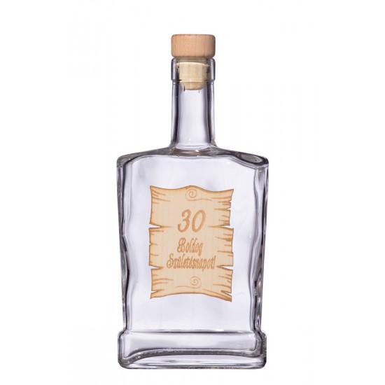 Fa címkés FC4 Piatta 30  0,5 Literes üvegpalack