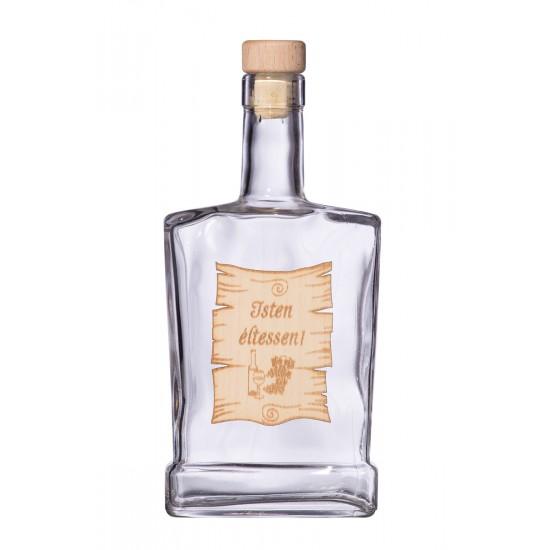 Fa címkés FC4 Piatta Isten Éltessen 0,5 Literes üvegpalack