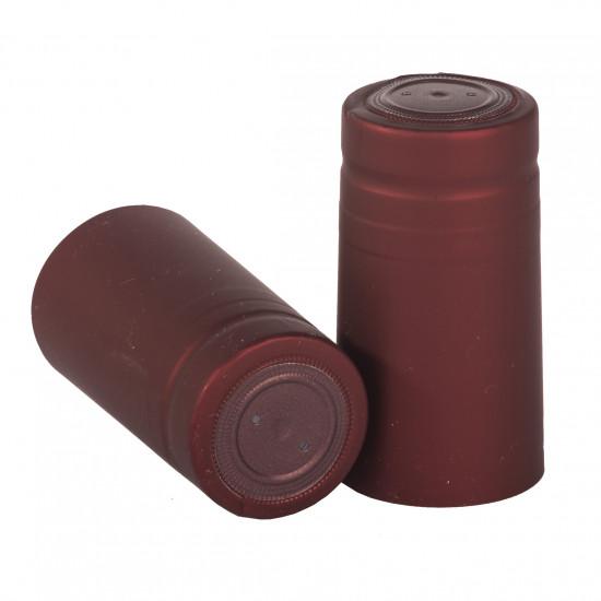 PVC zsugorkapszula dugós palackokhoz bordó